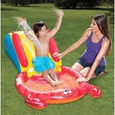Slip 'N Slide Crab Splash Pool Water Slide