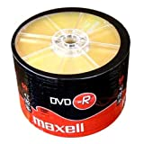 Maxell 504892 DVD-R 4.7 GB 16X 120 Min Video - Matt Silver...