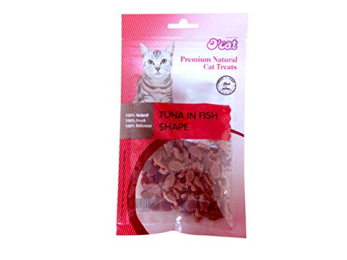 O'Cat TUNA IN FISH SHAPE Cat Treat 50 gms (Treat...