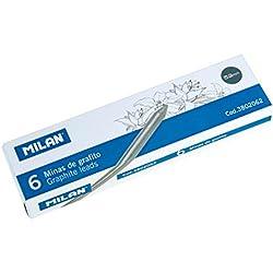 Milan 3802062 - Caja con 6 minas de recambio de grafito