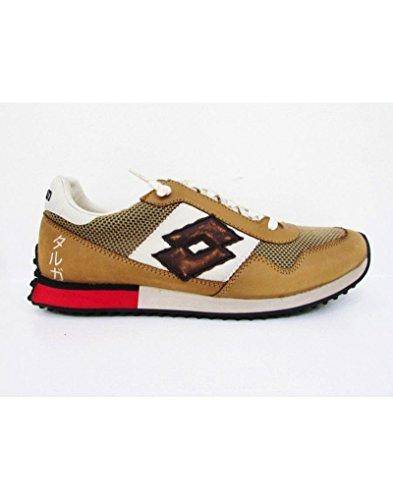 Schuhe Lotto Leggenda Tokyo Targa s3001 Herren Running Vintage Beige Brown