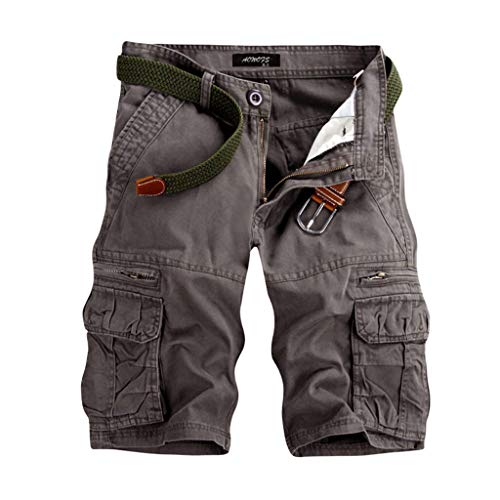 orne Vintage Cargo Shorts Männer Kurze Hose Bermuda Short Hunter im Bundle Chino Slim Stoffhose Arbeit Freizeithose ()