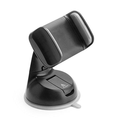 TheVery - Handy Halterung Auto für Smartphone an Windschutzscheibe mit Saugnapf - Handy Smartphone Auto Kfz PKW LKW Befestigung Halterung Carholder Scheibe (Mini Screen Htc Original One)