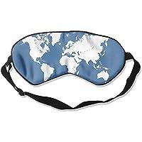 World Map 99% Eyeshade Blinders Sleeping Eye Patch Eye Mask Blindfold For Travel Insomnia Meditation preisvergleich bei billige-tabletten.eu