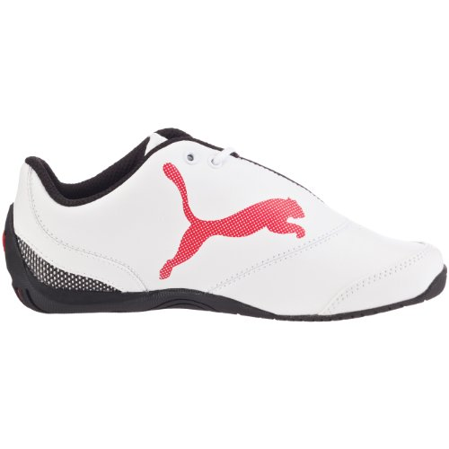 Puma Drift Cat III L SF Jr - Basket mode Garçon - Blanc Blanc