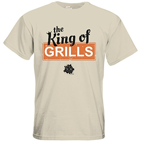 getshirts - SizzleBrothers Merchandise Shop - T-Shirt - SizzleBrothers - Grillen - King Of Grills Natural