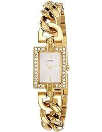 Guess W0540L2 - Reloj con correa de metal multicolor, para mujer, esfera de color blanco