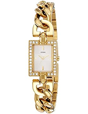 Guess Damen-Armbanduhr Analog Quarz Edelstahl W0540L2