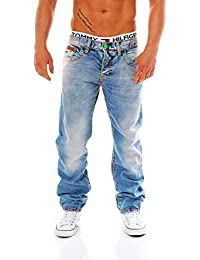 CIPO & BAXX - C-0952 - Regular Fit - dicke Naht - Men / Herren Jeans Hose