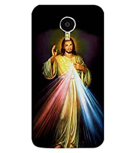 ColourCraft Lord Jesus Design Back Case Cover for MEIZU BLUE CHARM NOTE 3