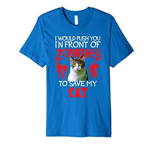 Kitty Cat Lovers T-Shirt–Zombie Halloween Kostüm Idee