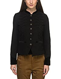 B. Young Women's Pephina Blazer with Buttons and Details