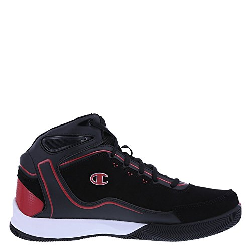 Champion Mens Rematch Basketball Shoe Black