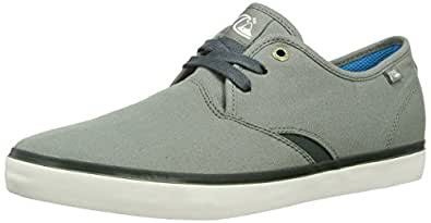 Quiksilver Herren Shorbrkstreknit Sneaker, Schwarz (Black/Black/White), 40 EU