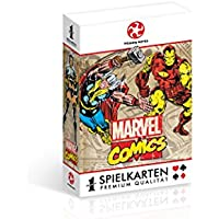 Winning Moves WIN30508 - Playing Cards: Marvel Retro