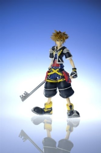 Kingdom Hearts 2 Play Arts Sora 18cm Figur (Sora Kingdom Ii Halloween Hearts Town)