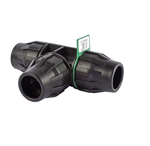SYR Brico Fitting – Te égal, 20 x 3 x 4 cm, couleur noir