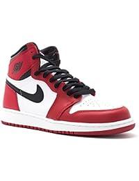 size 40 b1054 5fe5a Nike Boys  Air Jordan 1 Retro High Og Bg Basketball Shoes