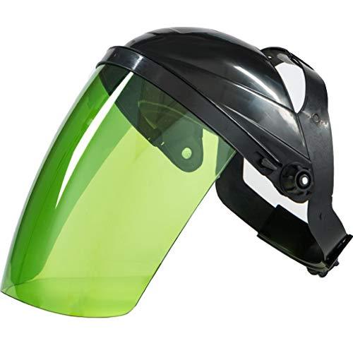 Casco Trabajo casco de seguridad PC soldadura de plexiglás máscara de soldadura soldador máscara protectora cabeza de argón arco de soldadura soldadura blindada de gas translúcido Casco industrial