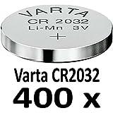 10 - 1000 Stk. (400 Stück) Variante frei wählbar Varta 2032 Knopfzelle im NEMT Pack