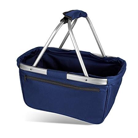 Einkaufskorb faltbar aus Stoff toll als Faltkorb Einkaufstasche oder Picknickkorb