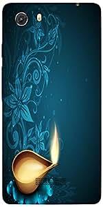 Snoogg Greeting Card For Diwali Celebration In India Designer Protective Back...