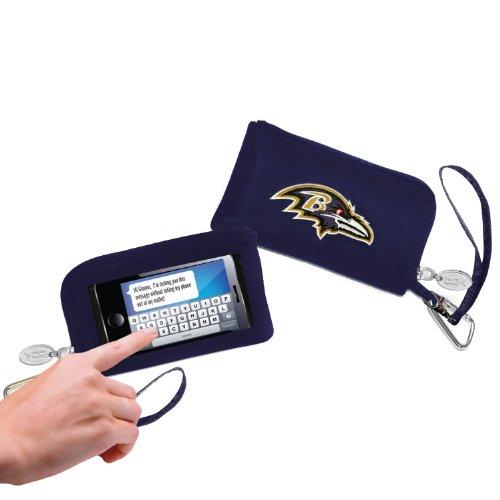 Baltimore Ravens–Logo Geldbörse Smartphone–Violett