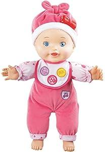 VTech - Little Love Rita aprende a Hablar, muñeca interactiva, versión benelux (3480-153922)