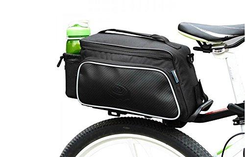 LingsFire® wasserbeständige, voll gefütterte Tasche mit abnehmbarem Schultergurt , Lenkertasche ,Cordura Gewebe + Fahrrad Gepäcktasche, Rennrad Tasche, Einseitige Reißverschlusstasche, Rahmentaschen, 10L Oberrohrtasche Kapazität Lenkertasche , Fahrradtasche, Taschen Packung Halterung, Rennrad Radfahren Frontrahmen Bag, Pannier Rohr Satteltasche Sitz für MTB, Rennrad, Klapprad Rahmentasche (Cordura-leder-satteltasche)