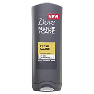 Dove Men + Care Fresh Awake Body and Face Wash 250 ml - Pack of 3
