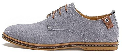 Boots Chaussures De Voile Chaussures basses de véritable cuir cuir de vachette Chaussures Marron Foncé