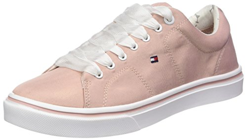 Tommy Hilfiger Damen Metallic Light Weight Lace Up Sneaker