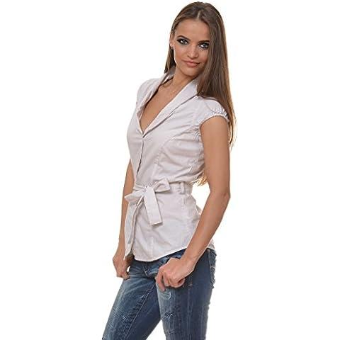 M.Conte Modelo Bonney T-Shirt sleeveless Blusa Camisas Blusa sin mangas