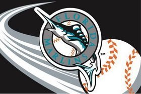 Florida Marlins 20''X30'' Tufted Rug by Hall of Fame Memorabilia