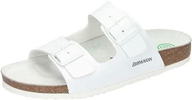 Dr. Brinkmann Men's 603141 Mules, White - Weiß (Weiß), 38 EU