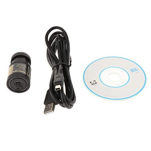 H HILABEE Alta Definición Microscopio USB Electrónica