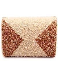 Nitya Biswas Women's Sling Bag (Beige)