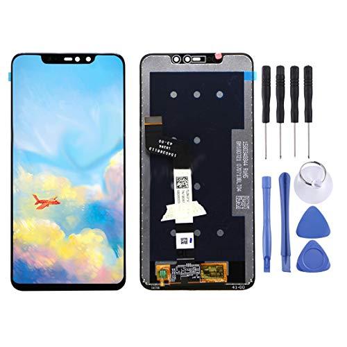 Moonbaby Nueva Pantalla LCD y ensamblaje Completo del digitalizador for Xiaomi Redmi Note 6 Pro (Negro) (Color : Black)
