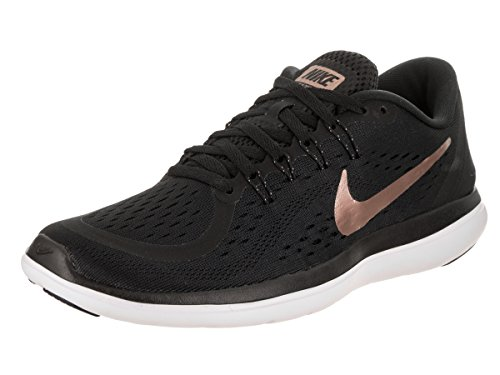 Nike Damen Laufschuhe Black/Mtlc Red Bronze-Mtlc Cool Grey (Damen Laufschuhe Road)