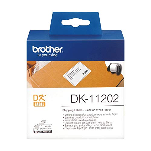 Brother DK-11202 Label Roll, Shi...