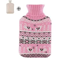 Wärmflasche mit pinker Strickdecke - 2 Liter preisvergleich bei billige-tabletten.eu