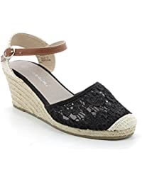 Prendimi by Scarpe&Scarpe - Flache Sandalen mit Riemchen Aus Lurex - 37,0, Schwarz