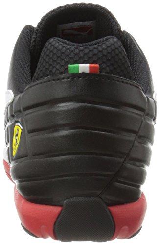 Puma Pédale Sf Motorsport-Schuh Black / White / Rosso Corsa
