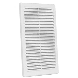 High Quality Air Vent Grille Cover 200 x 300mm (8x12inch) White Ventilation Cover