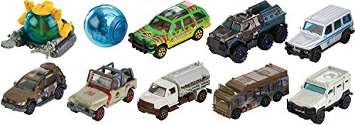 Jurassic World - Matchbox vehicles assortment (Mattel FMW90), assorted models