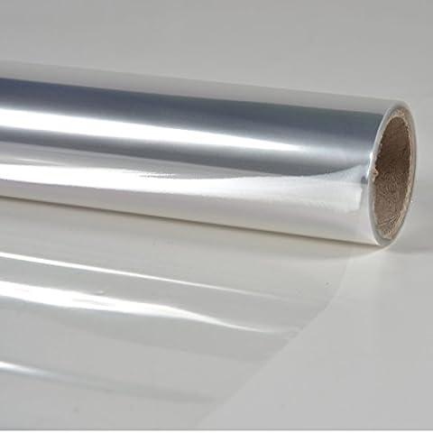 Papier Cristal - Rouleau papier cellophane transparent 10 x 0.70