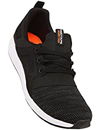 ATHLEISURE Men's Black Synthetic Shoes (203226177) - 7 UK