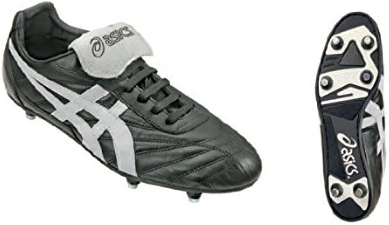 Asics Zapatillas Fútbol Hombre profesionales tomaia Piel Nippon St negro blanco SLA551