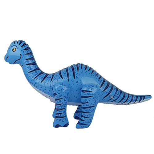 MagiDeal Aufblasbare Dinosaurier Spielzeug - Brachiosaurus / Flugsaurier / Tyrannosaurus / Parasaurolophus - Brachiosaurus