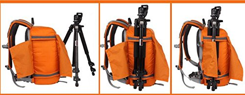 Z&HXsacchetto di spalla casuale impermeabile moda multifunzionale Fotografia borse fotocamera reflex , orange Blue